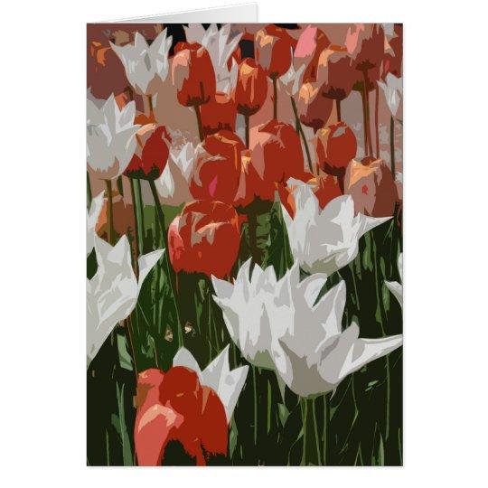Tulip Festival Card