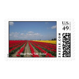 Tulip Festival, Skagit Valley Tulip Festival Stamps