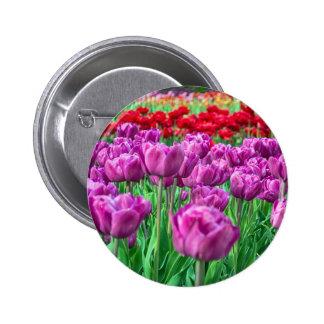 Tulip Field Button