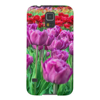 Tulip Field Galaxy S5 Cover