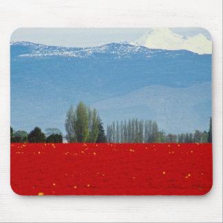 Tulip field, La Conner, Washington flowers Mouse Pad