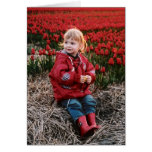 Tulip Field notecards Stationery Note Card