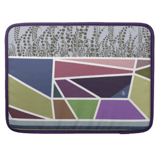 """""""Tulip field on to congregation day"""" ECO padded Sleeve For MacBook Pro"""