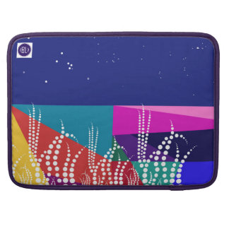 """""""Tulip field on to sunnyday"""" ECO padded laptop Sleeve For MacBook Pro"""