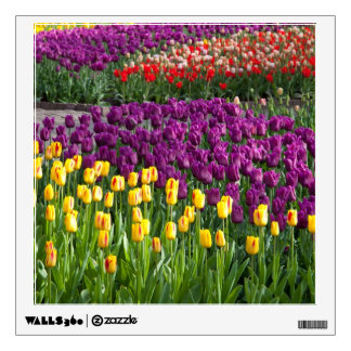 Tulip Field Wall Sticker