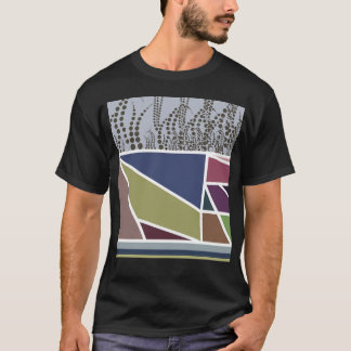Tulip fields on to congregation day black mens t T-Shirt