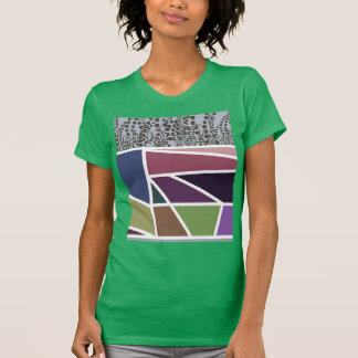 Tulip fields on to congregation day green ladies t T-Shirt