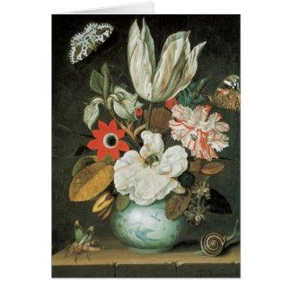 Tulip Floral Arrangement Fine Art Blank Card