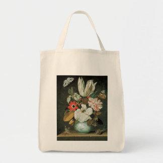 Tulip Floral Arrangement Fine Art Tote Bag