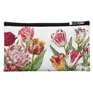 Tulip Floral Botanical Flowers Bag Makeup Bags