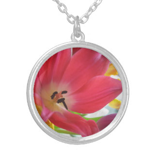 Tulip Flower Custom Necklace
