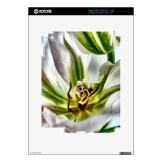 Tulip Flower Decals For iPad 2