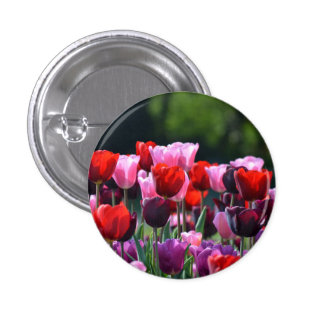 Tulip Flowers Badge / Button