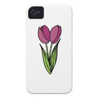 Tulip Flowers Case-Mate iPhone 4 Case