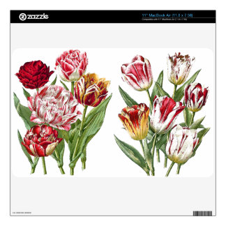 Tulip Flowers Floral Garden Skin Decal For MacBook Air