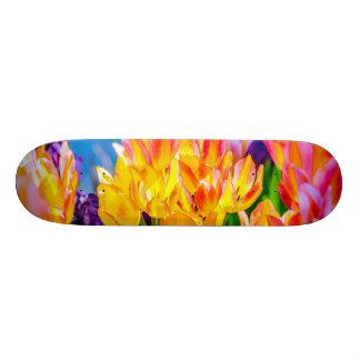 Tulip Flowers - Flourish Skateboard