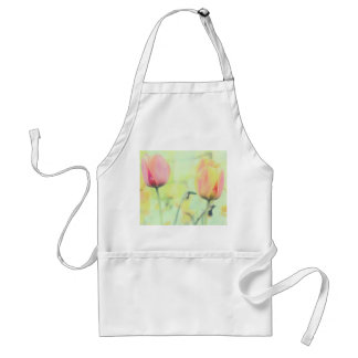 Tulip Flowers Flowers Aprons