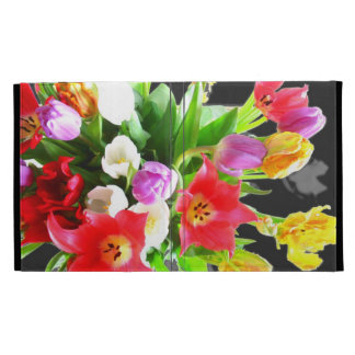 Tulip Flowers iPad Folio Case
