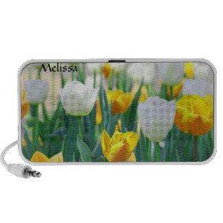 Tulip Flowers Speakers