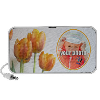 Tulip Frame for Your Photo iPhone Speakers