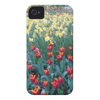 Tulip Garden iPhone 4 Case-Mate Cases