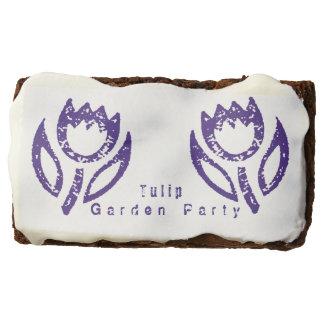 Tulip Garden Party Chocolate Brownie