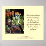 Tulip Garden Poster-Print