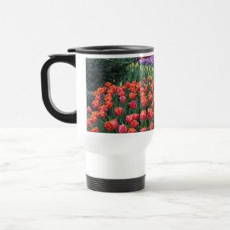 Tulip Gardens 15 Oz Stainless Steel Travel Mug