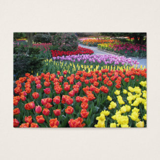 Tulip Gardens Business Card