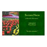 Tulip Gardens Business Card Templates
