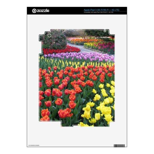 Tulip Gardens iPad 3 Decals