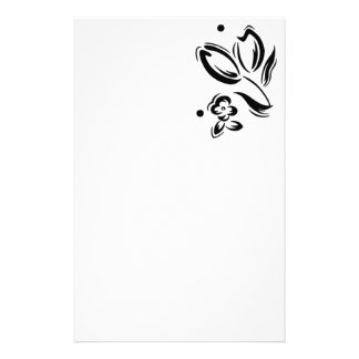 Tulip graphic stationary stationery