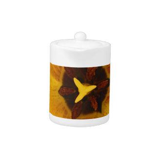 Tulip Heart Teapot