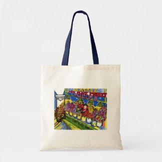 Tulip Lady Tote Bag