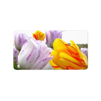 Tulip Love Label