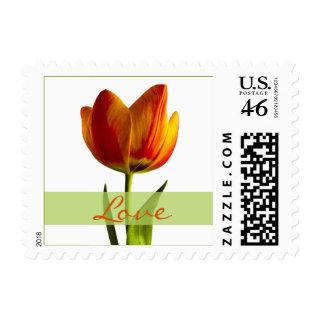 Tulip Love Wedding Postage