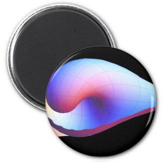 Tulip 2 Inch Round Magnet