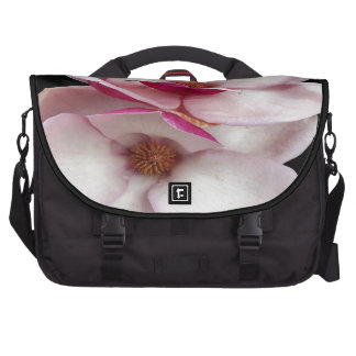 tulip magnolia twins (black square) computer bag