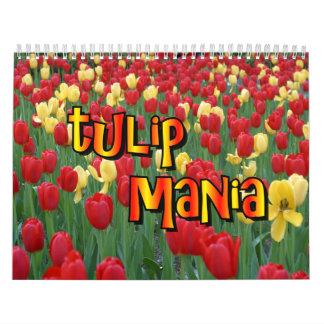 Tulip Mania Wall Calendar