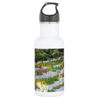 Tulip Market in Amsterdam 18oz Water Bottle