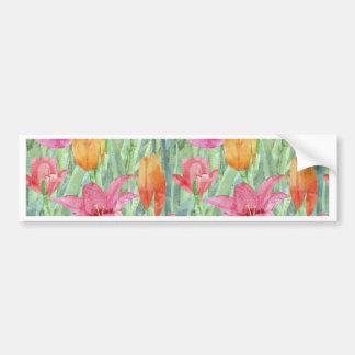 Tulip Meadow Bumper Sticker