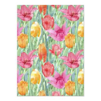 Tulip Meadow Personalized Invitations