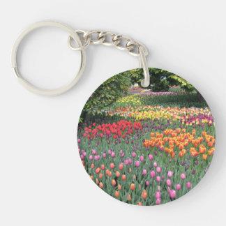 Tulip Meadow Keychain