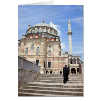 Tulip Mosque in Istanbul Card