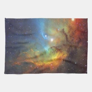 Tulip Nebula SH2-101 NASA Kitchen Towel