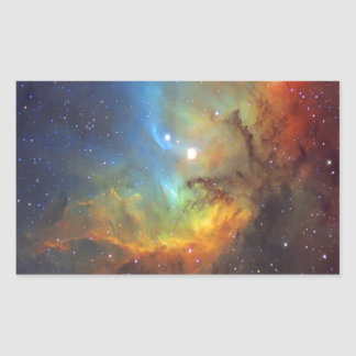 Tulip Nebula SH2-101 NASA Rectangular Sticker