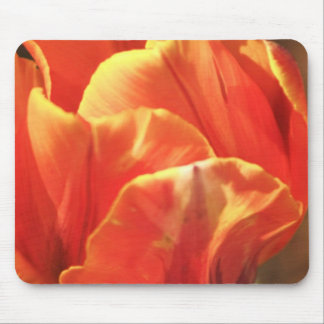 Tulip on Fire Mouse Pad