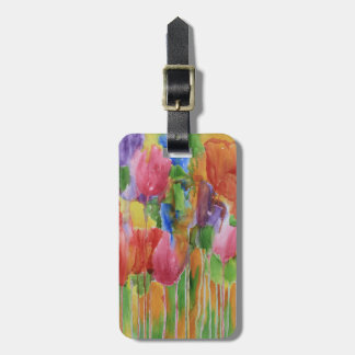 Tulip Palooza Luggage Tag