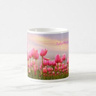 Tulip Parade Classic White Coffee Mug