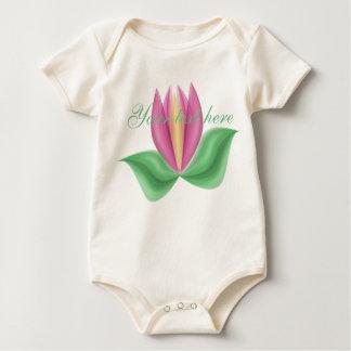 Tulip Personalized Infant Organic Creeper